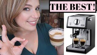 COFFEE LOVERS MUST WATCH! // DeLonghi ECP 3420 Espresso Machine REVIEW | GLENDA