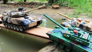 Bad Tank |  Tank Battle  | Military Toys Video for Kids !!