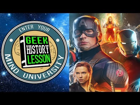 Analyzing the Avengers (LA Live Show) - Geek History Lesson