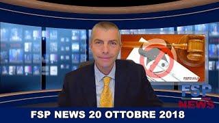 FSP News del 20 ottobre 2018