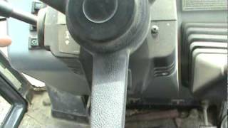 Case Backhoe Controls Part 1