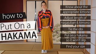 How To Wear A Hakama