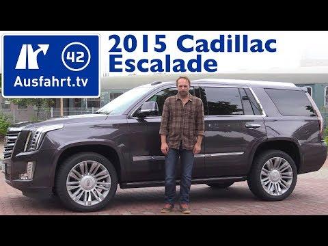 2015 Cadillac Escalade - Kaufberatung, Test, Review
