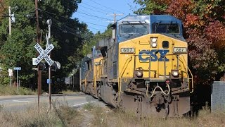 Rare Mileage! Two Parts Of The Ringling Bros Circus Train In Framingham!
