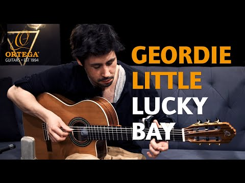 "Geordie Little - ""Lucky Bay"" on Ortega Guitars RCE409SN-25TH anniversary model"