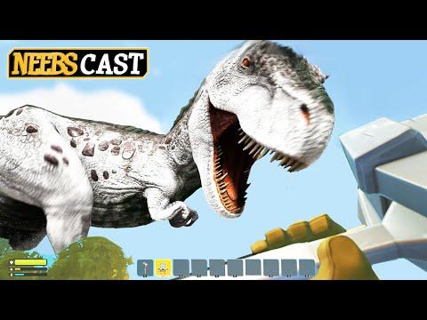 Ark Survival vs Scrap Mechanic Survival - We are DIVIDED!!! (Neebscast)