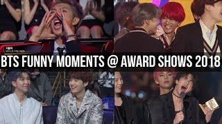BTS Funny Moments @ Award Shows 2018