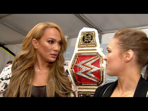 Download Ronda Rousey To Challenge Raw Women's Champion Nia Jax At WWE Money In The Bank HD Mp4 3GP Video and MP3