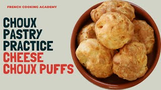 Easy cheese choux puff recipe (Gougères) | 3 simple steps to get it right