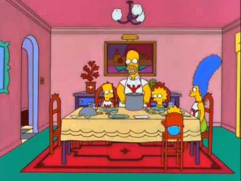 Homero y tenazas