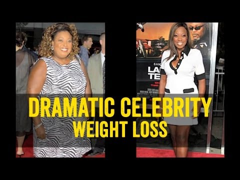 Most Dramatic Celebrity Weight Loss Before and After