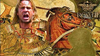 OUR EMPIRES CLASH! PVP Macedon vs India - Multiplayer Campaign!  Total War: Rome 2 DEI #14
