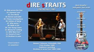 """Dire Straits """"One world"""" 1985 Uniondale [AUDIO ONLY]"""