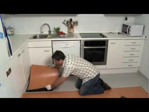 Sistema per posa di pavimento in vinile senza labovori IDEC