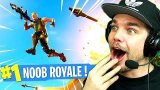 Le NOOB ROYALE sur FORTNITE: Battle Royale !!