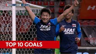 Top 10 goals seizoen 2020-2021