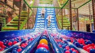 Fun at Busfabriken Megacenter Indoor Playground