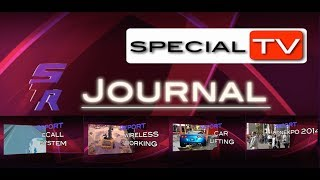 eCall system - Wirless working  - Lifting Corvette - Conexpo 2014  Reports of Special TV Journal