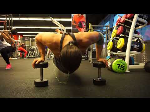 Dumbbell Push up