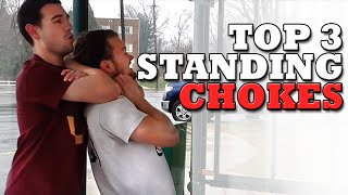 3 Simple Yet EXTREMELY Effective Standing Submissions