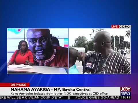 Mahama Ayariga's opinion on Koku Anyidoho's arrest - The Pulse on JoyNews (27-3-18)