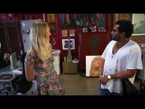 gratis download video - Retna.. A rare look inside the artist Los Angeles Art studio..LoveWestCoast.com