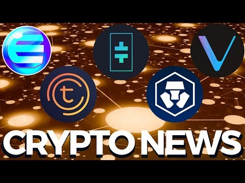 Theta, Tomochain, Crypto.com MCO, Enjin and Vechain - Crypto News
