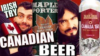 Irish People Taste Test 'CANADIAN CRAFT BEER' - First Time!! | Kholo.pk