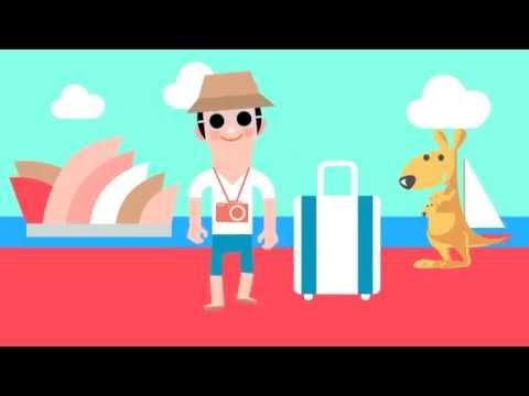 青年度假打工動畫短片-3部曲