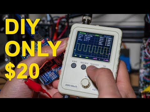 $20 oscilloscope DIY YETech DSO-SHELL DSO150