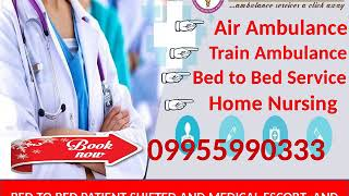 Panchmukhi Air Ambulance in Delhi to Legendry Medical Transport Services