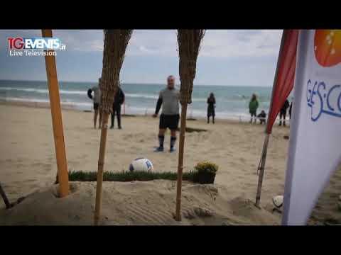 AD ALASSIO DOMENICA TORNA IL FOOTGOLF IN SPIAGGIA