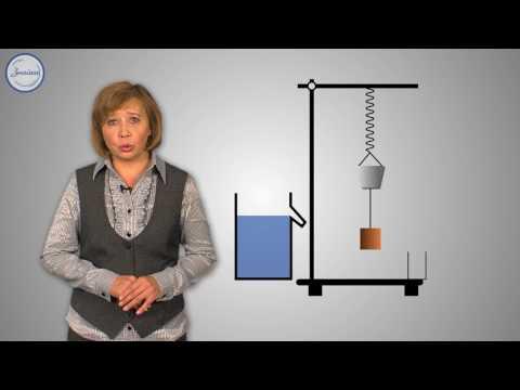 Действие жидкости и газа на погружённое в них тело. Закон Архимеда