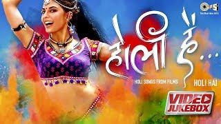 Holi Hai Video Jukebox | Holi Biraj Ma | Chamma Chamma | Race 3 | Race 2 | Ramaiya Vastavaiya
