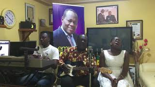 SANDY ASARE AND ELDER MIREKU HOLY SPIRIT MINISTRATION AT STUDIO