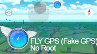 Como usar Fly Gps Para Pokemon-Go😎 (No Root)No Hacks🤠
