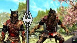 Skyrim Special Edition: ◼️5 WITCHER ARMOR MODS ◼️ | Killerkev