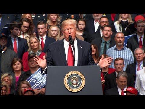 Watch: President Trump speaks in Nashville