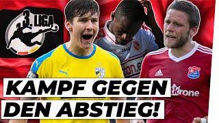 Existenzkampf In Der 3. Liga: Wer Steigt Ab?!  Analyse