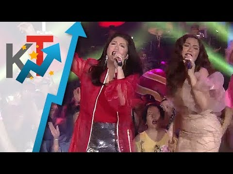"Regine and Morissette belt out ""All I Want For Christmas Is You"""