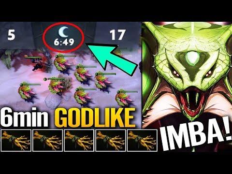 6 Min GODLIKE - Epic Ranked Venomancer Carry Skill Dota 2 Pro