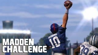 Can Eli Manning Recreate The Odell Beckham Jr Catch? - Madden NFL Challenge