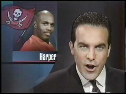 Drew Soicher Sports 1996 WFTS TV Tampa Alvin Harper Coverage