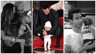 Adam Levine's daughter Dusty Rose Levine!