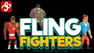 Fling Fighters (By Craneballs ) - iOS/Android - Gameplay Video
