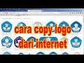cara mengcopy logo dari internet