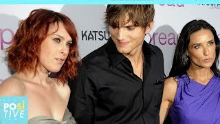 Demi Moores Daughter Fell In Love With Ashton Kutcher | Positive