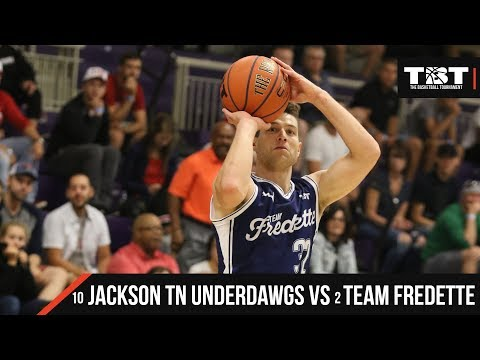 2018 TBT Midwest Region - #10 Jackson TN Underdawgs VS #2 Team Fredette