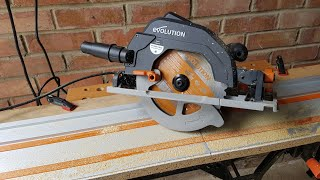 Evolution R185CCSX+ Circular Saw with ST1400 Track [Unboxing and Review]