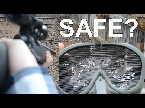 Is a $5 Dollar Mask Safe for Airsoft? [TEST]